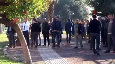 Antalya'da özel banka şubesinde silahlı eylem yapan şahıs adliyeye sevk edildi