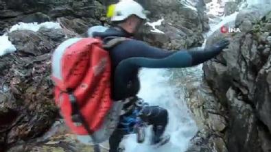 Uludağ'da kayıp dağcılar böyle bulundu!