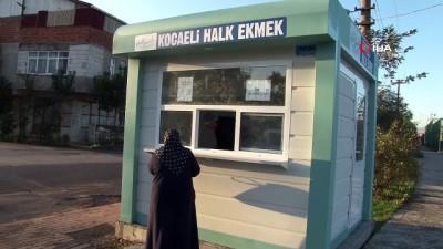 Kocaeli'de vatandaşa ucuz ekmek ulaştırmak için 'Halk Ekmek' satışı başladı