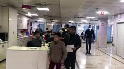 Gaziantep'te bir kişi domuz gribi şüphesiyle hastaneye kaldırıldı
