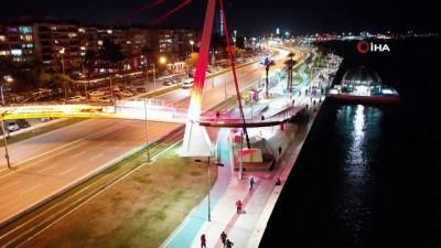 enerji icecegi - İzmirliler en uzun gecede koştu