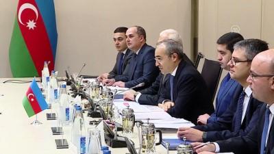 abba - Ticaret Bakanı Pekcan, Azerbaycan Ekonomi Bakanı Cabbarov ile görüştü - BAKÜ