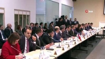 abba -  - Ticaret Bakanı Pekcan, Azerbaycanlı ve Türk iş adamları ile görüştü