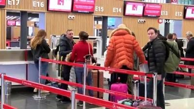 İstanbul Havalimanı'nda yılbaşı hareketliliği