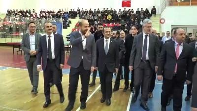 """basketbol takimi - Bilal Erdoğan: """"Engelli vatandaşlarımızın olanakları her yıl artacak"""""""