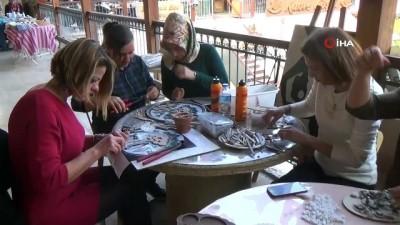 nano -  Hatay'da, kadın mozaik kooperatifi kuruldu