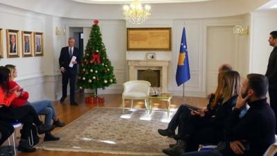 secimin ardindan - Kosova Cumhurbaşkanı Thaçi, Arnavutluk ile sınırların kaldırılmasını istiyor - PRİŞTİNE