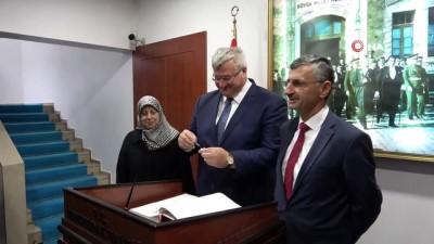 deniz tasimaciligi -  Ukrayna Ankara Büyükelçisi Zonguldak'ta