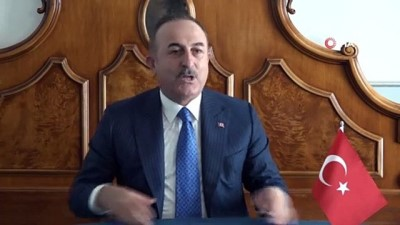 """- Bakan Çavuşoğlu: """"Büyükelçinin sınır dışı edilmesi kabul edilemez"""""""