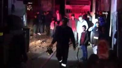Cizre'de Yangın mahalleyi sokağa döktü