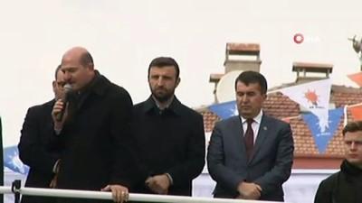 """İçişleri Bakanı Soylu: """"Reyden, oydan, demokrasiden, sandıktan ve sizin desteğinizdendir cesaretimiz"""""""
