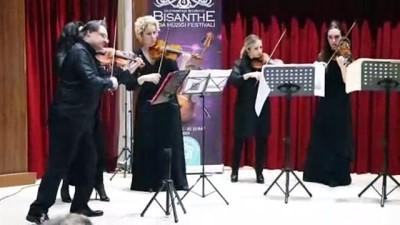 4. Bisanthe Oda Müziği Festivali sona erdi - TEKİRDAĞ