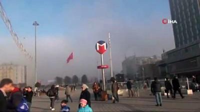 Taksim'den sis manzarası