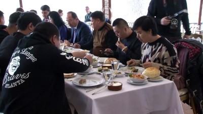 saray mutfagi - Çinli turizmciler tava ciğere hayran kaldı - EDİRNE