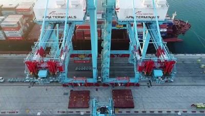 deniz tasimaciligi - Türk limanlarında 'elleçleme' arttı - İZMİR