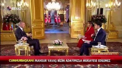 Cumhurbaşkanı Erdoğan'dan Mansur Yavaş açıklaması