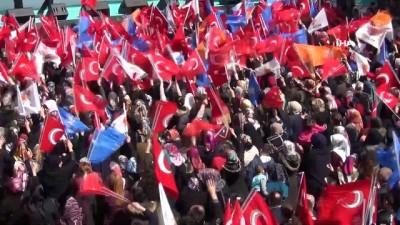 milli gorus -  Bakan Soylu: 'Tayyip Erdoğan'ın ayağına şu topu verin de şu zillet ittifakının, Kılıçdaroğlu'nun kalesinin doksanına bir çaksın'