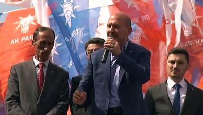 Süleyman Soylu: 'APO'nun bir adamını daha 4'ü ile gönderdik. Onlara güzel bir seçim hediyesi verdik'