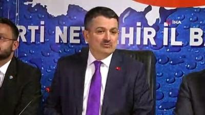 """Tarım Bakanı Pakdemirli: """"Terör örgütüne siyasi tünel kazanların oyunlarını bertaraf edeceğiz"""""""