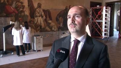 tam gun -  Türkiye'deki en büyük oryantalist tablosu sonbaharda ziyarete açılacak