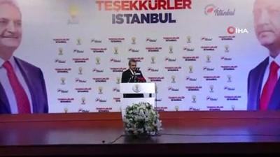 """secim yarisi -  AK Parti İstanbul İl Başkanı Bayram Şenocak: """"3 bin 870 oy farkla seçimi kazandık"""""""