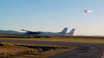 - Dünyanın en büyük uçağı ilk uçuşunu yaptı
