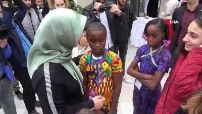 cocuk senligi -  Dünya çocukları 23 Nisan için Samsun'a geldi...40 ülkeden 800 öğrenci Samsun'da çocuk bayramını kutlayacak