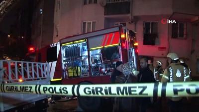 mustafa demir -  Eyüpsultan'da bir apartman çatısı alev alev böyle yandı