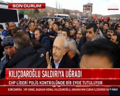 kemal kilicdaroglu - Son dakika! Kemal Kılıçdaroğlu Ankara Çubuk'ta şehit cenazesinde saldırıya uğradı