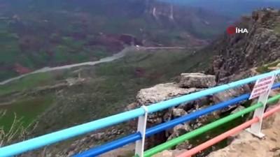 isik duzenegi -  Siirt Kaletül Üstad Tepesi'ne ziyaretçi akını