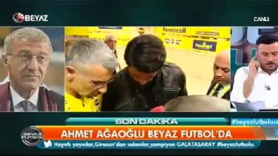 Ahmet Ağaoğlu Beyaz Futrbol'a konuştu
