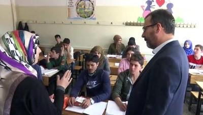 Bakan Kasapoğlu'ndan okul ziyaretleri - ANKARA