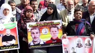 Filistinli tutuklular için dayanışma çadırı - GAZZE