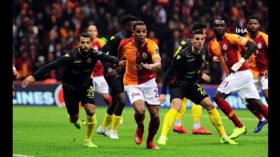 Galatasaray - Evkur Yeni Malatyaspor maçından kareler