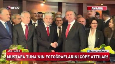 Mustafa Tuna'nın fotoğraflarını çöpe attılar