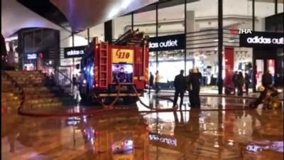 Alışveriş merkezin'de yangın çıktı