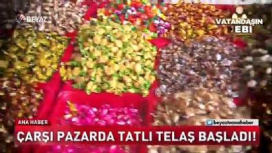 Çarşı pazarda tatlı telaş başladı!
