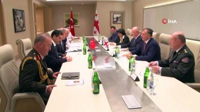 - Milli Savunma Bakanı Akar, Azerbaycan-Türkiye-Gürcistan Savunma Bakanları 7. Toplantısına Katıldı