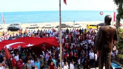 galler -  Atatürk ve İstiklal Yolu Yürüyüşü, İnebolu'dan başladı