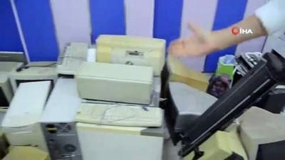 elektronik atik -  Söke'de elektronik atıklar, köy okullarına bilgisayar olarak dönüyor