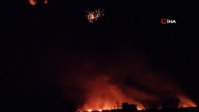 misket bombasi -  - Esad Rejimi Sivillere Ait Tarlaları Yakıyor