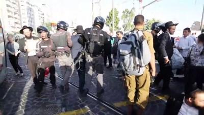 secimin ardindan - Ultra-Ortodoks Yahudilerden askerlik protestosu
