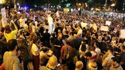 secim sistemi - Gürcistan'daki protestolar devam ediyor - TİFLİS