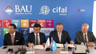 """elektronik atik -  BM Genel Sekreteri Yardımcısı Nikhil Seth: """"Türkiye'deki ve bölgedeki diplomatların eğitimlerinin kalitesinin iyileştirilmesine katkı sağlayacağız"""""""
