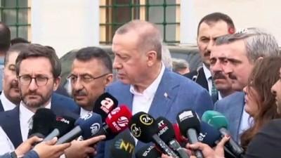 Cumhurbaşkanı Erdoğan'dan YSK'nın ilçe seçim kurullarıyla ilgili kararını değerlendirdi: 'Biz bütün bunlara karşı tedbiren parti olarak YSK'ya bu konuda itirazi kaydımız düştük'