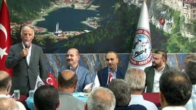 İçişleri Bakanı Süleyman Soylu Arnavutköy'de Trabzonlu hemşehrileriyle buluştu