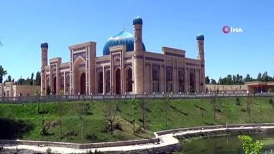 yeni cami -  - Hırka-i Şerif'in hediye edildiği Karani'nin Özbekistan'daki türbesi restore ediliyor