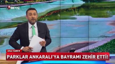 Parklar Ankaralı'ya bayramı zehir ettirdi
