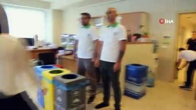 elektronik atik -  Çöp kovaları gitti, atık toplama kutuları geldi