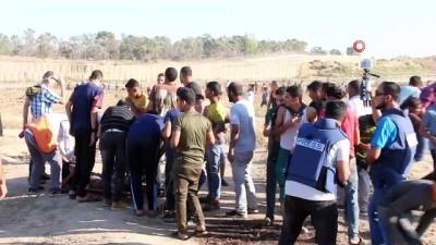 - Gazze sınırında 97 kişi yaralandı